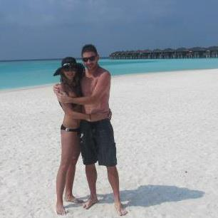 Jan Hajek and girlfriend