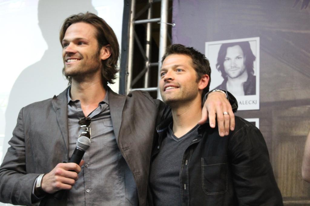 Jared and Misha - Jared Padalecki & Misha Collins Photo ...