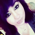 Jenny Jenocide with Purple Hair :3 - emo-girls photo