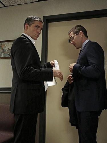 Jim Caviezel and Luke Macfarlane in Person of Interest