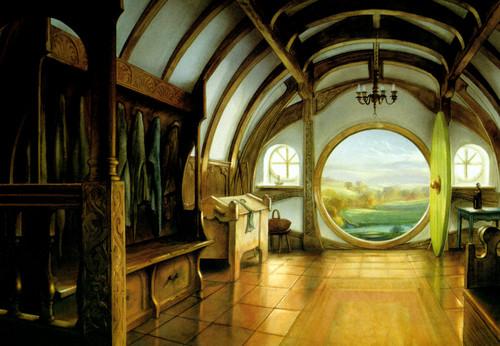 J.R.R. Tolkien wallpaper with a vault entitled John Howe`s illustration