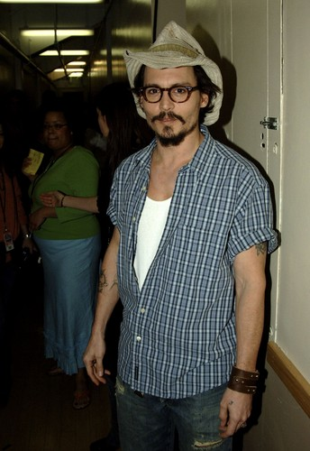 Johnny Depp at the Kid's Choice Awards 2005