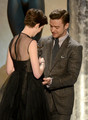 Justin &amp; Anne Hathaway - justin-timberlake photo