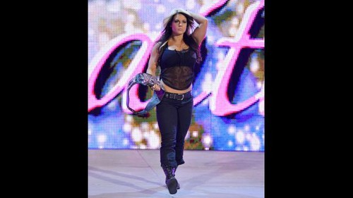 Kaitlyn vs. AJ Lee: foto-foto