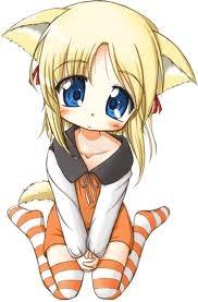 Kawaii anime girl!