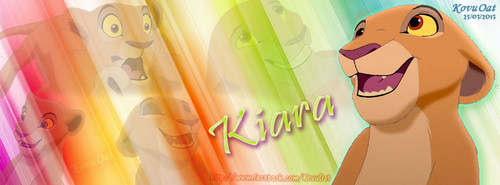 Kiara TLK Colorful Facebook cover