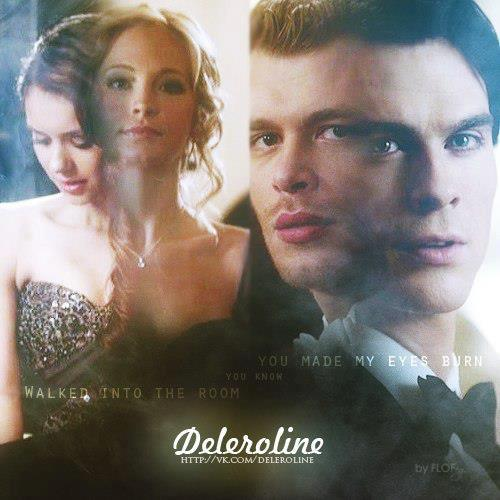 Klaroline Amp Delena The Vampire Diaries Fan Art 34062198