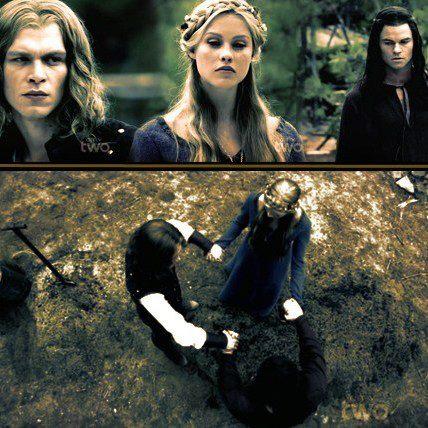 Klaus & Rebekah & Elijah