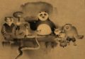 Kung Fu Family Portrait - kung-fu-panda photo