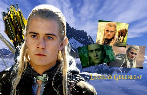 Legolas Blue Icy Mountain 壁纸