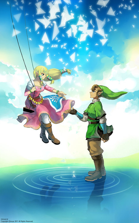 Zelink images Link x Zelda~♥ wallpaper photos (34015476) Zelink Skyward Sword