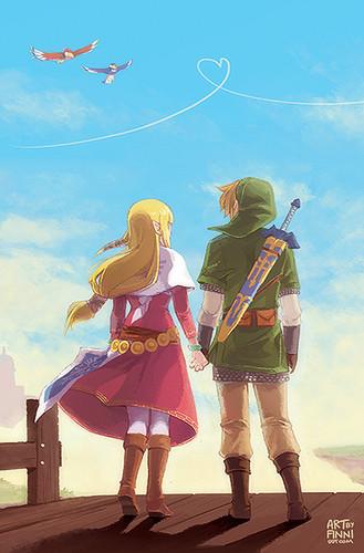 Link x Zelda~♥