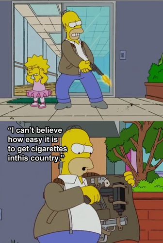 Lisa smoke