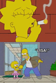 Lisa smoke - the-simpsons photo