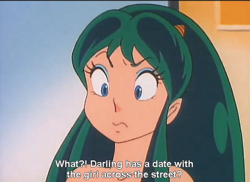 Urusei Yatsura hình nền possibly with anime titled Lum-chan