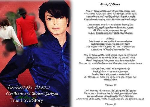 "Lyrics To ""Break Of Dawn"""