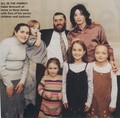 MICHAEL WITH FORMER FRIEND SHMULEY BOTEACH AND HIS CHILDREN - michael-jackson photo