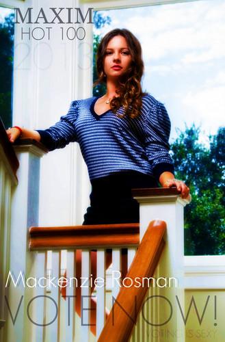 Mackenzie Rosman #VoteMack Maxim Hot100