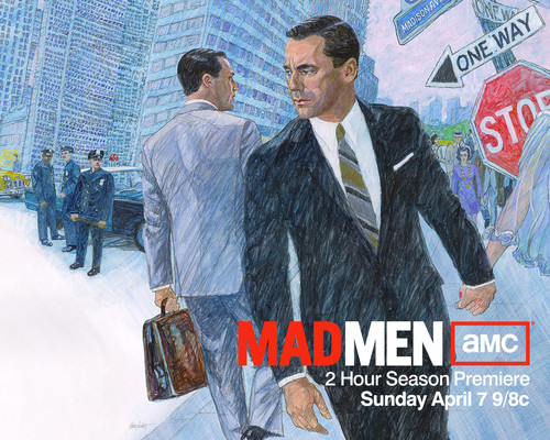 Mad Men Season 6 वॉलपेपर्स
