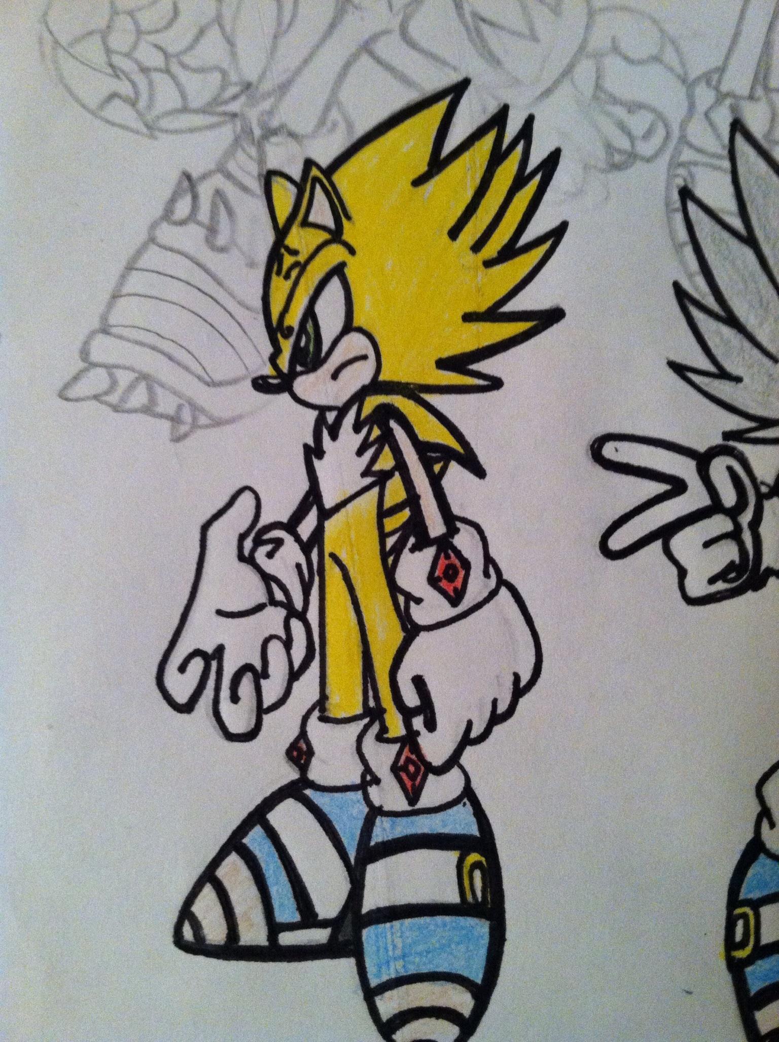 Sonic The Hedgehog Headshot Majin Sojy The Hedgeho...