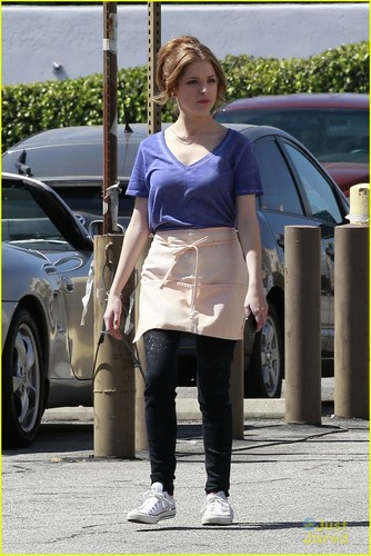March 24: Anna Kendrick: 'Cups' Video Shoot