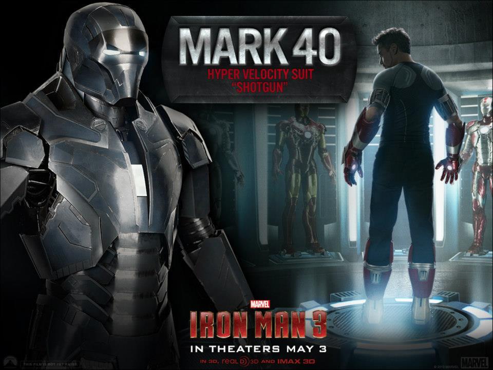 Mark 40 - Iron Man 3 Photo (34058786) - Fanpop