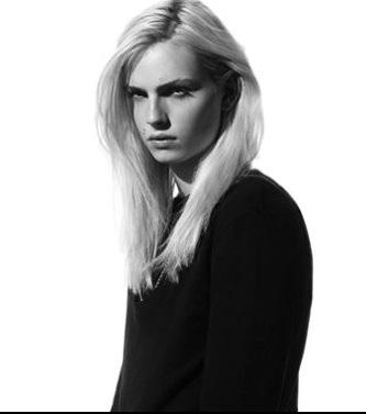 andrej pejic kertas dinding probably containing a portrait called Martyn Bal F/W 10 sejak Richard Stow