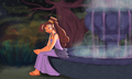 Megara - hercules-and-megara fan art