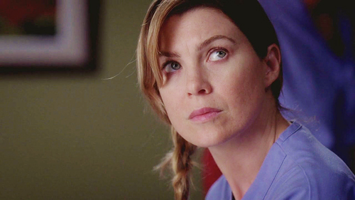 Meredith Grey 壁紙 containing a portrait called Meredith Grey