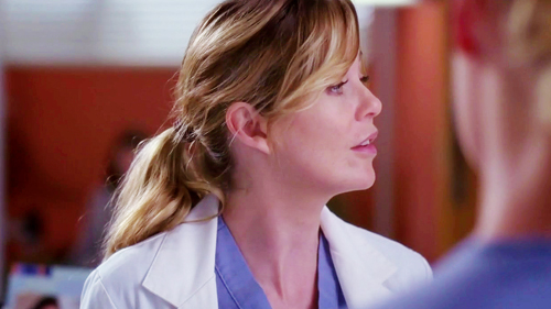 Meredith Grey वॉलपेपर possibly with a portrait called Meredith Grey