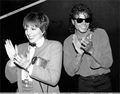 "Michael And Liza Minnelli At The Performance Of ""Phantom Of The Opera"" Back In 1988 - michael-jackson photo"