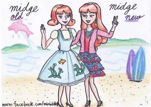 Midge old & Midge new