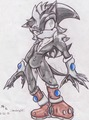 Midnight the Hedgehog (Gift/Request for Midnight Assassin on DA) - sonic-fan-characters fan art
