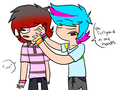 More Raaanddom things - total-drama-island-fancharacters fan art