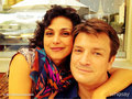 Morena Baccarin wishes Nathan a Happy Birthday on twitter - nathan-fillion photo
