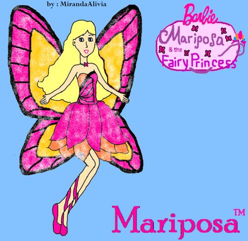 My Mariposa Drawing