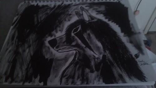 My artwork using ink