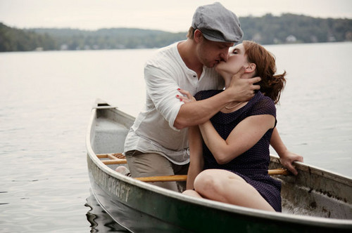 The Notebook wallpaper containing a canoe and a dugout canoe titled NB