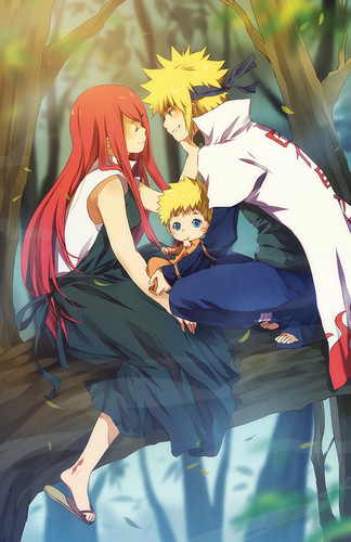 Minato Namikaze Hintergrund probably containing a sign and a michigan lily titled Namikaze family. ~