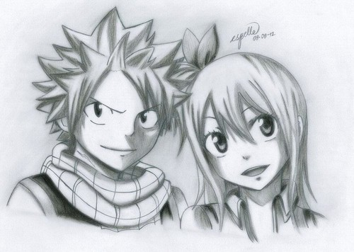 Natsu and Lucy❤