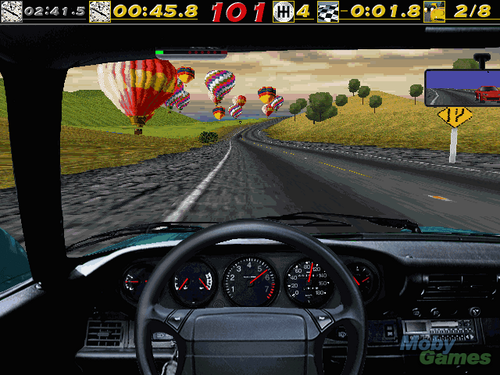 Need for Speed wallpaper probably with a carriageway called Need for Speed (1995) screenshot