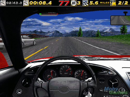 Need for Speed wallpaper probably with a carriageway and an automobile entitled Need for Speed (1995) screenshot