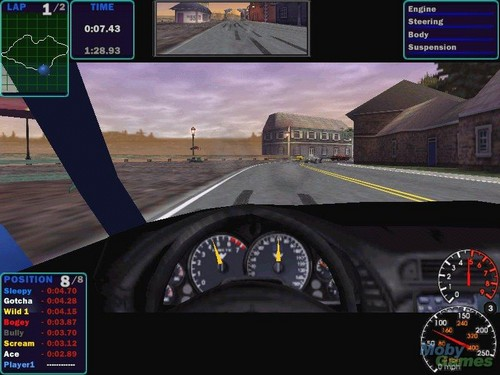Need for Speed wallpaper possibly containing a carriageway and a roulette wheel called Need for Speed: High Stakes screenshot