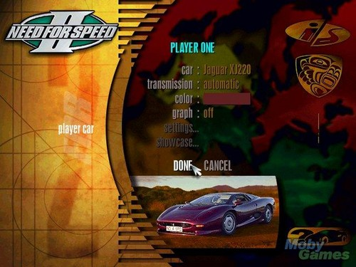 Need for Speed wallpaper possibly with a sign titled Need for Speed II screenshot