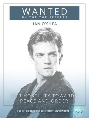 New wanted poster of Ian O'shea