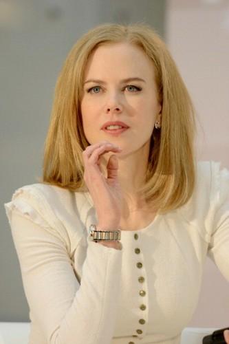 Nicole Kidman - Omega Press Junket