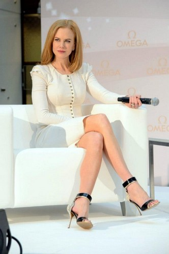 Nicole Kidman - Omega Press Junket
