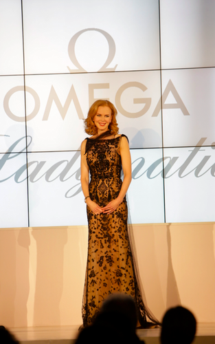 Nicole at Omega event in Vienna