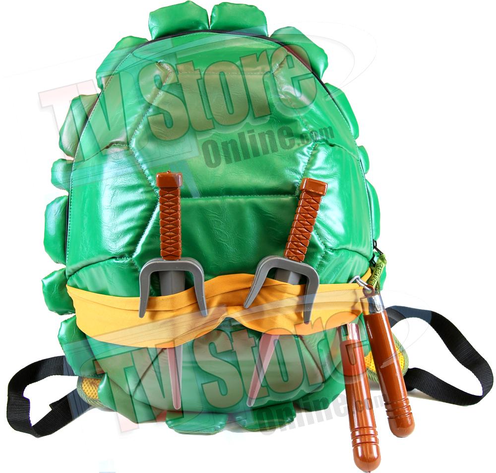 Ninja Turtles Combat Gear Shell Backpack Teenage Mutant