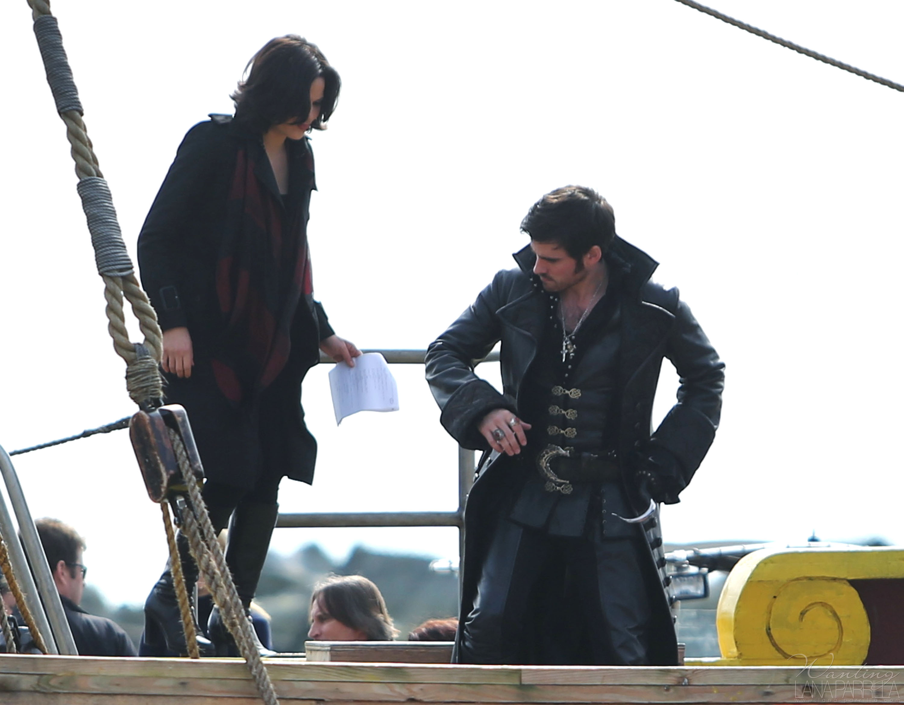 hooks ship in once upon a time The jolly roger (once upon a time hook laments that he hasn't been the same since he got back to the enchanted forest because he hasn't used his ship however.